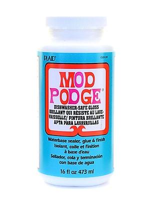 Plaid Mod Podge Medium Formulas Dishwasher Safe Gloss 16 Oz. [Pack Of 2] (2PK-CS25139)