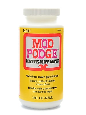 Plaid Mod Podge Medium Formulas Matte 16 Oz. [Pack Of 2] (2PK-CS11302)