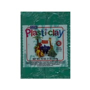 Plast-I-Clay Modeling Clay Green [Pack Of 4] (4PK-91123R)