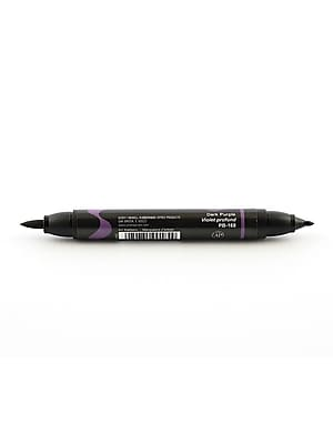 Prismacolor Premier Double-Ended Brush Tip Markers Dark Purple 168 [Pack Of 6] (6PK-1773192)