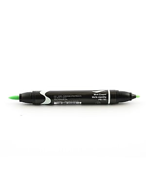 Prismacolor Premier Double-Ended Brush Tip Markers Mint Cream 193 [Pack Of 6] (6PK-1773224)