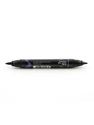 Prismacolor Premier Double-Ended Brush Tip Markers Navy Blue 045 [Pack Of 6] (6PK-1773205)