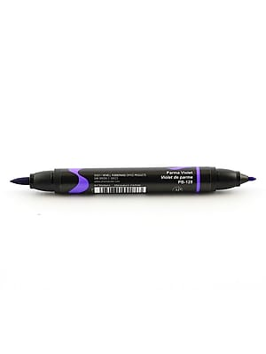 Prismacolor Premier Double-Ended Brush Tip Markers Parma Violet 128 [Pack Of 6] (6PK-1773194)