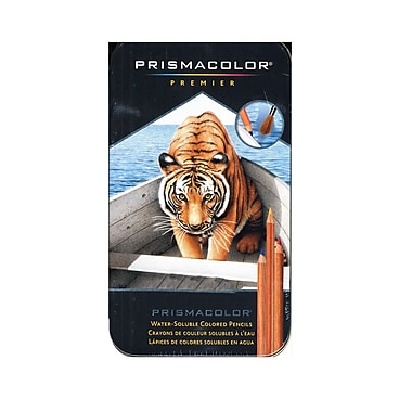 Prismacolor Watercolor Pencil Sets Set Of 12 [Pack Of 2] (PK2-4064HT)