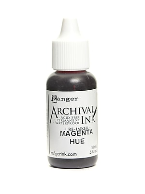 Ranger Archival Ink Magenta Hue 1/2 Oz. Bottle [Pack Of 6] (6PK-ARR30904)