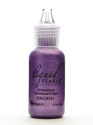Ranger Liquid Pearls Pearlescent Paint Orchid 1/2 Oz. [Pack Of 8] (8PK-LPL33950)