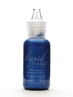 Ranger Liquid Pearls Pearlescent Paint Royal Blue 1/2 Oz. [Pack Of 8] (8PK-LPL33974)