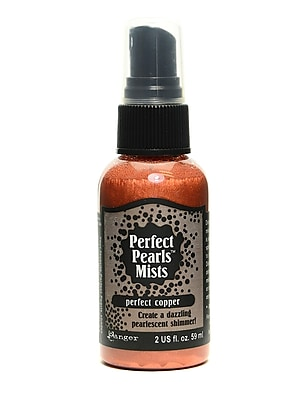 Ranger Perfect Pearl Mists Perfect Copper 2 Oz. Bottle [Pack Of 3] (3PK-PPM28345)