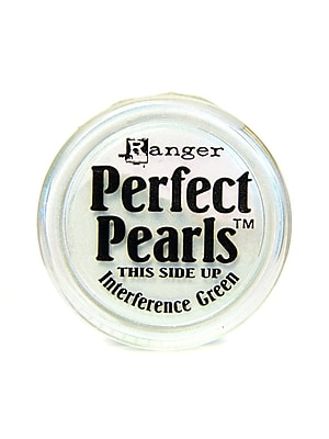 Ranger Perfect Pearls Powder Pigments Interference Green Jar [Pack Of 6] (6PK-PPP17769)