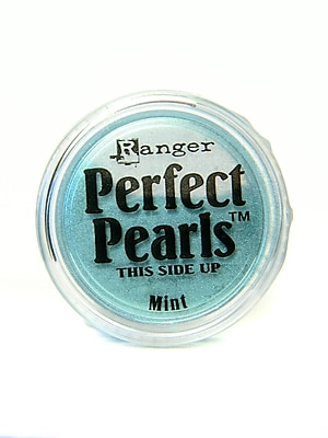 Ranger Perfect Pearls Powder Pigments Mint Jar [Pack Of 6] (6PK-PPP30706)