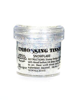 Ranger Specialty Embossing Powders Snowflake Tinsel 1 Oz. Jar [Pack Of 3] (3PK-EPJ37453)