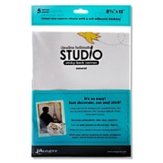Ranger Sticky-Back Canvas 8.5 In. X 11 In. White [Pack Of 2] (2PK-ISS40750)