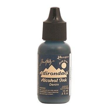 Ranger Tim Holtz Adirondack Alcohol Inks Denim Earthtones 0.5 Oz. Bottle [Pack Of 6] (6PK-TIM22015)