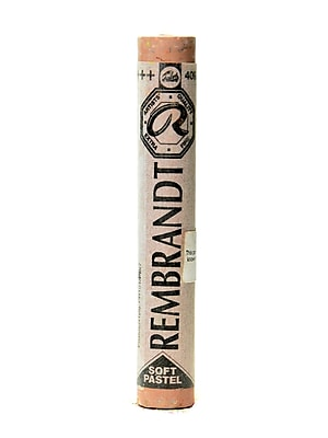 Rembrandt Soft Round Pastels Burnt Umber 409.8 Each [Pack Of 4] (4PK-100515782)