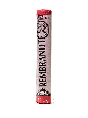 Rembrandt Soft Round Pastels Permanent Red Deep 371.3 Each [Pack Of 4] (4PK-100515758)