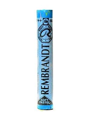 Rembrandt Soft Round Pastels Turquoise Blue 522.5 Each [Pack Of 4] (4PK-100515806)