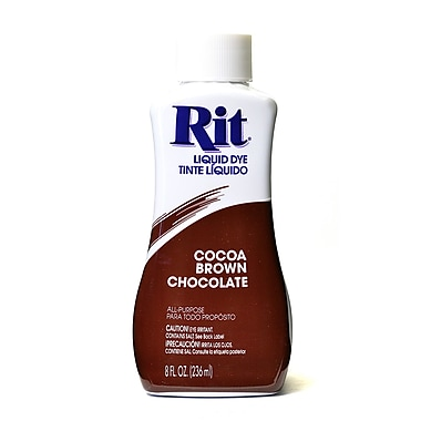 Rit Dyes Cocoa Brown Liquid 8 Oz. Bottle [Pack Of 4] (4PK-8209)
