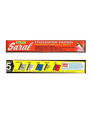Saral Transfer (Tracing) Paper Red Easy-To-See For Scaling 12 1/2 In. X 12 Ft. Roll (ROLL RED)
