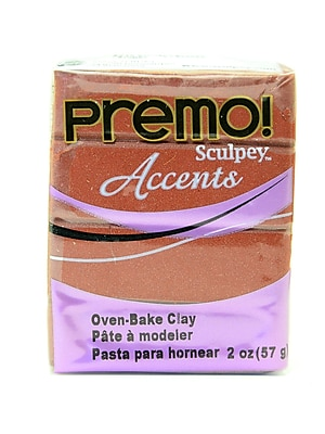 Sculpey Premo Premium Polymer Clay Bronze 2 Oz. [Pack Of 5] (5PK-PE02-5519)