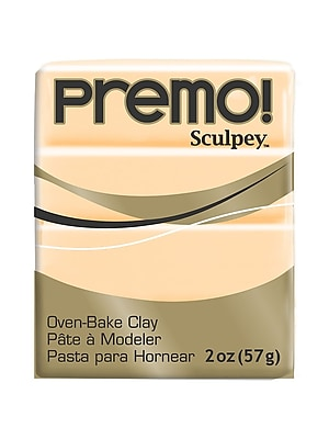 Sculpey Premo Premium Polymer Clay Ecru 2 Oz. [Pack Of 5] (5PK-PE02-5093)