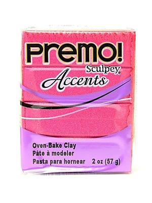 Sculpey Premo Premium Polymer Clay Magenta Pearl 2 Oz. [Pack Of 5] (5PK-PE02-5029)