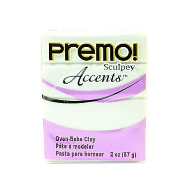 Sculpey Premo Premium Polymer Clay Pearl 2 Oz. [Pack Of 5] (5PK-PE02-5101)