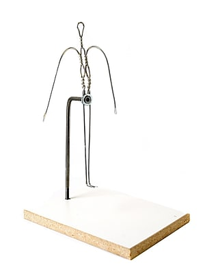 Sculpture House Almaloy Wire Formica Bases Full Figure 12 In. (FA3)