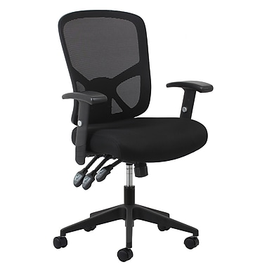 Essentials By OFM 3 Paddle Ergonomic Mesh High Back Task Chair With Arms And
