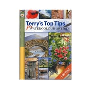 Search Press Terry Harrison Books Top Tips For Watercolour Artists (9781844483358)