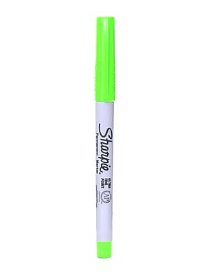 Sharpie Ultra Fine Point Marker Lime [Pack Of 24] (24PK-37244)