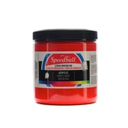 Speedball Acrylic Screen Printing Ink Medium Red 8 Oz. [Pack Of 2] (2PK-4626)