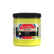 Speedball Acrylic Screen Printing Ink Primrose Yellow 8 Oz. [Pack Of 2] (2PK-4621)