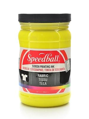 Speedball Fabric Screen Printing Ink Yellow 32 Oz. (4605)
