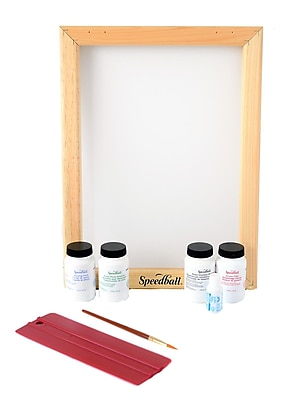 Speedball Fabric Screen Printing Tool Kit Each (4524)