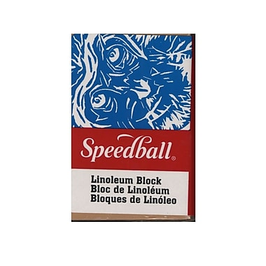 Speedball Linoleum Blocks 2 In. X 3 In. [Pack Of 12] (12PK-4303)