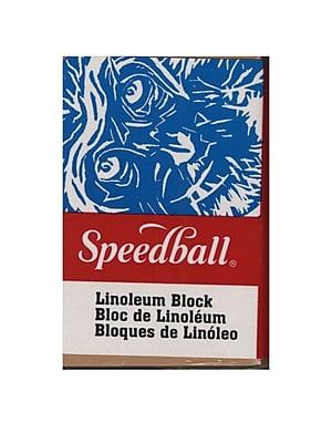 Speedball Linoleum Blocks 2 In. X 3 In. [Pack Of 12] (12PK-4303)