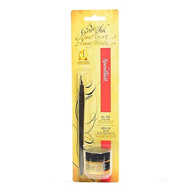 Speedball Pen And Ink Sets Gold [Pack Of 4] (4PK-94156)