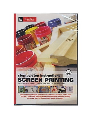 Speedball Screen Printing Dvd Each (45019)
