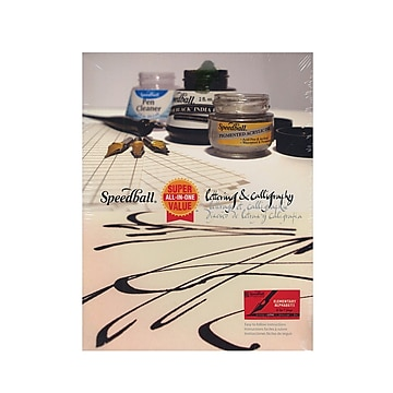 Speedball Super Value Lettering  And  Calligraphy Kit Calligraphy Kit (3060)