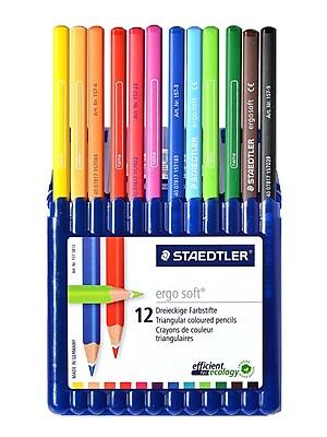 Staedtler Ergosoft Colored Pencil Sets 3.0 Mm Set Of 12 (157 SB12)