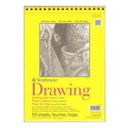 Strathmore 300 Series Drawing Paper Pads 9 In. X 12 In. [Pack Of 3] (3PK-340-9-1)