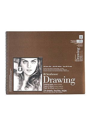 Strathmore 400 Series Drawing Paper Pad 14 In. X 17 In. [Pack Of 2] (2PK-400-7-1)