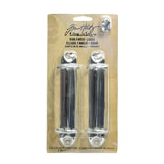 Tim Holtz Idea-Ology Fasteners Pack Of 2 Large Ring Binders [Pack Of 4] (4PK-TH92914)