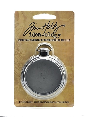 Tim Holtz Idea-Ology Findings Pocket Watch Each [Pack Of 2] (2PK-TH92910)
