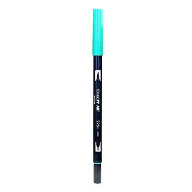 Tombow Dual End Brush Pen Green [Pack Of 12] (12PK-56534)