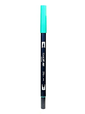 Tombow Dual End Brush Pen Green [Pack Of 12] (12PK-56534)