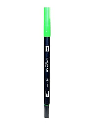 Tombow Dual End Brush Pen Light Green [Pack Of 12] (12PK-56521)