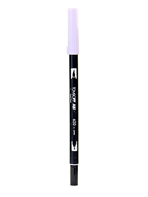 Tombow Dual End Brush Pen Lilac [Pack Of 12] (12PK-56569)