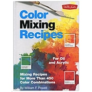 Walter Foster Color Mixing Recipes For Oil And Acrylic Color Mixing Recipes [Pack Of 2] (2PK-9781560108733)