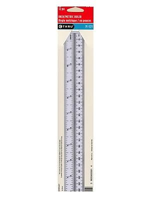 Westcott Metric Opaque Ruler 12 In. [Pack Of 12] (12PK-M-109)